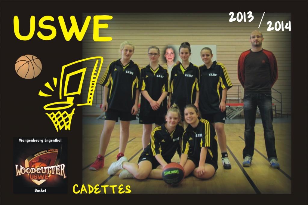 Basket_USWE_2013_2014_Cadettes